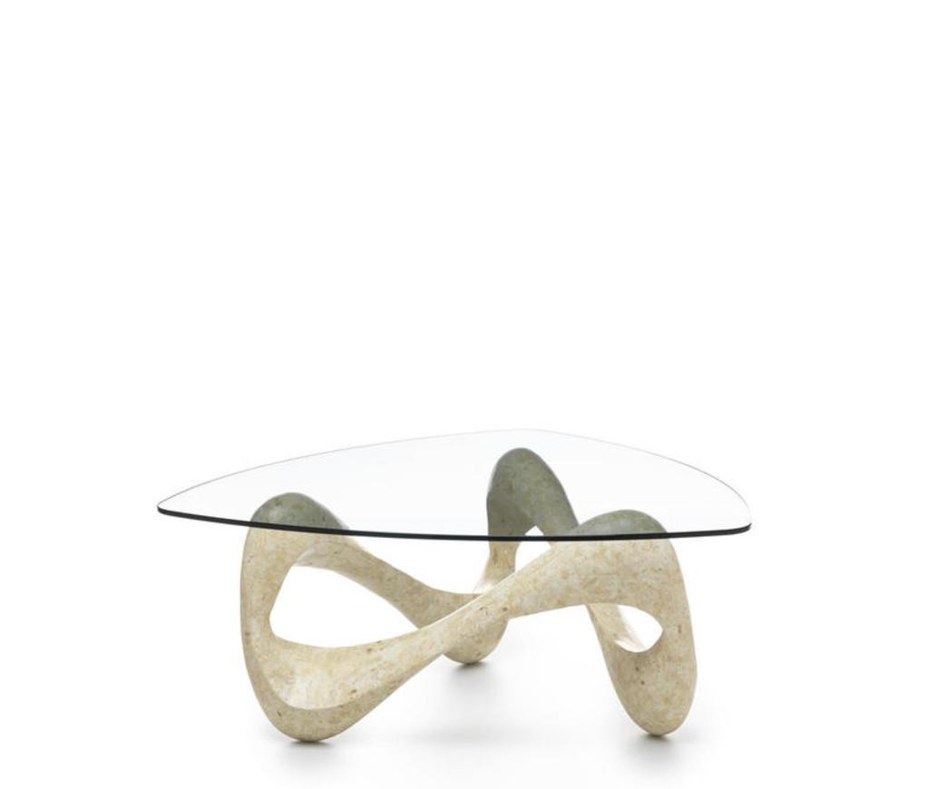 Tavolini Da Salotto Cristallo E Pietra.Tavolino Tetris In Pietra Bianca Fs 011 Ms