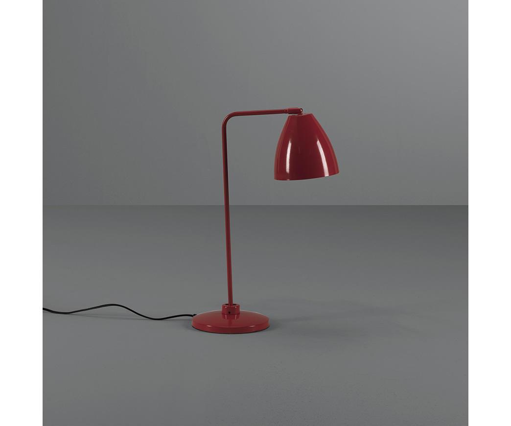 Design Lampade Da Tavolo lampada da tavolo cervasca rossa
