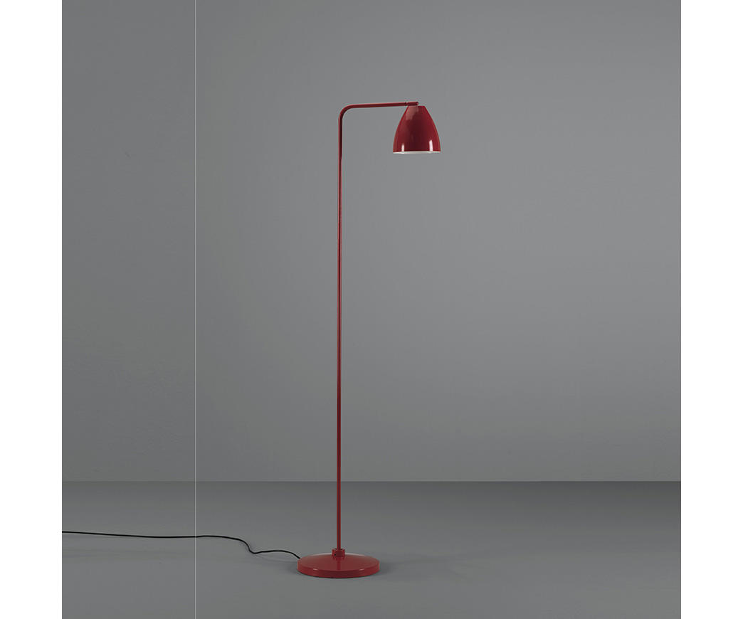 Lampada da terra Cervasca Rossa | Duzzle