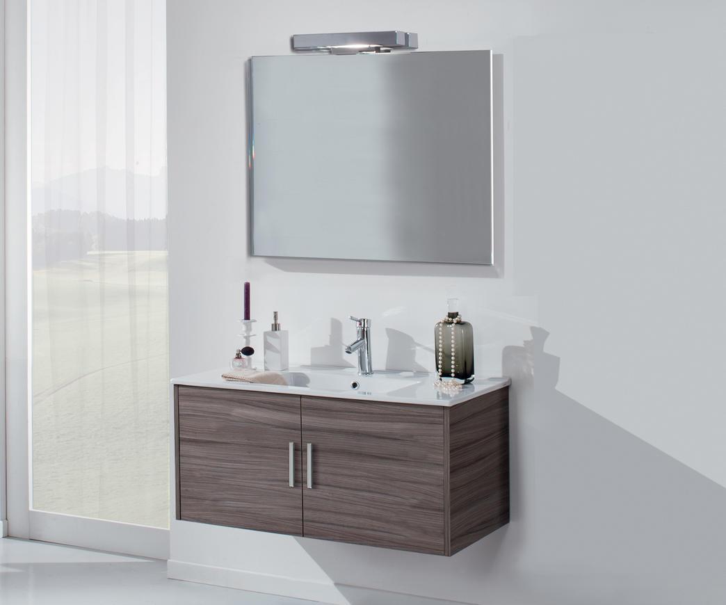 Bagno con lavabo in gres acacia arredo design online