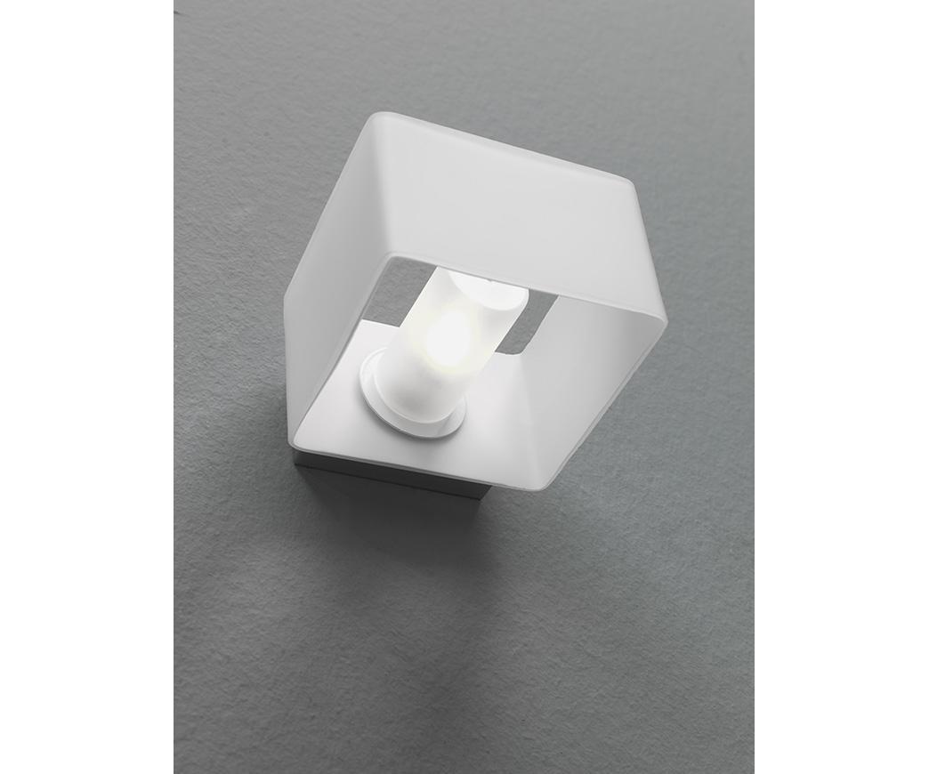 Lampada applique gasperina bianca duzzle