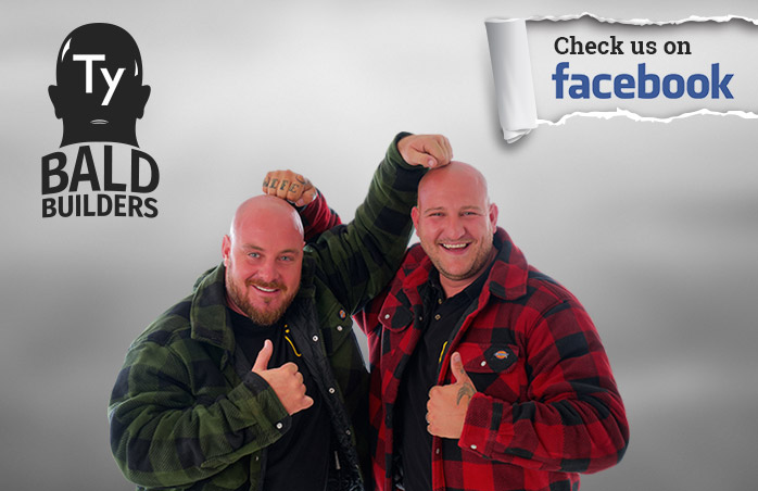 Check out the Bald Builders on Facebook!