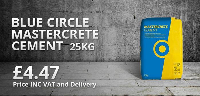 Blue Circle Mastercrete Cement 25kg