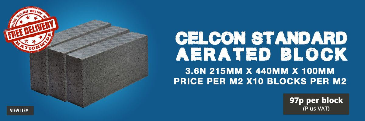 Celcon Standard Aerated Block