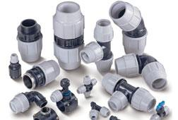 Mains Water Pipe and Fittings