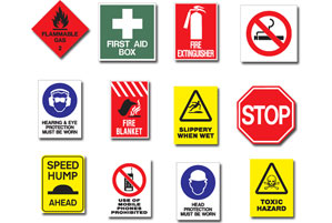 Safety Signs, Fire Detection