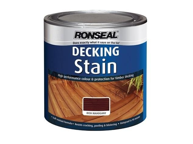 Decking Treatments And Stains