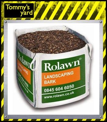 Rolawn Landscaping Bark Bulk Bag 1m