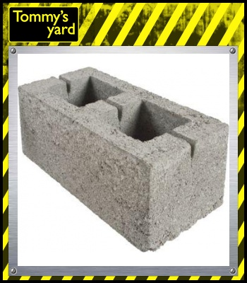 Hollow Dense Concrete Block 7.3N 215mm x 440mm x 215mm Per Block