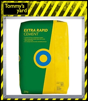 Blue Circle Extra Rapid Fast Set Cement 25kg