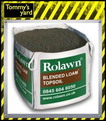 Rolawn Blended Loam Bulk Bag 1m