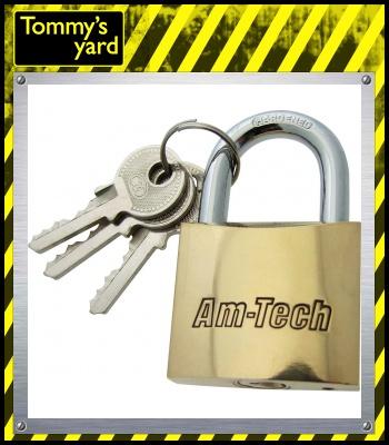 AM-Tech Brass Padlock 50mm
