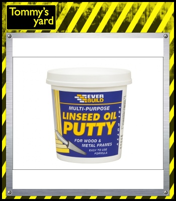 Multi Purpose Linseed Oil Putty 101 Natural 1Kg