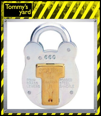 Squire All Weather Shed Lock Large