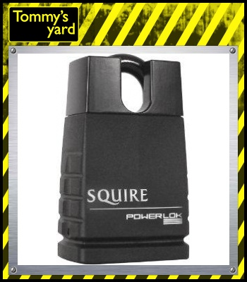 Squire Solid Steel Concealed Padlock 45mm