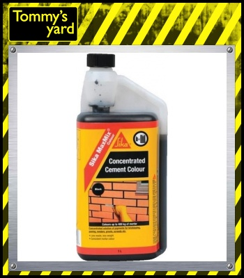 Sika Concentrated Cement Colour (Black) 1Ltr