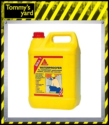 Sika 1 Waterproofer (Yellow Liquid)