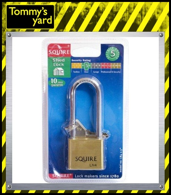 Squire Shed Padlock Long Shackle