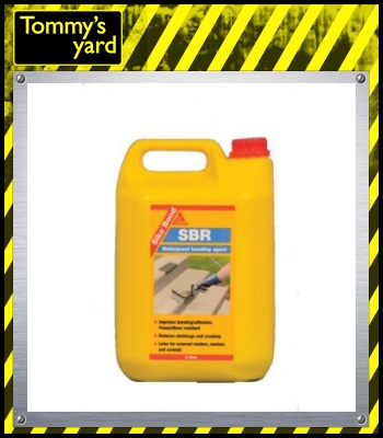 Sika SikaBond SBR + Waterproof Bonding Agent 5 Litre