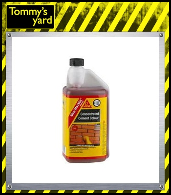 Sika Concentrated Cement Colour (Red) 1Ltr