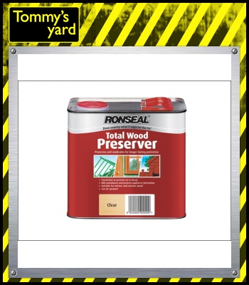 Total Wood Preserver Clear 5 Litre