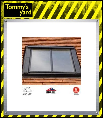 VELUX GGL CK06 SD5P2 Conservation Window for 15mm Tiles - 55cm x 118cm