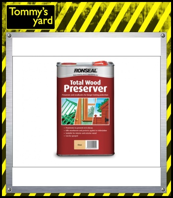 Total Wood Preserver Light Brown 5 Litre