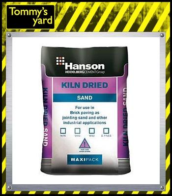 Hanson Kiln Dried Sand Maxipack 23KG