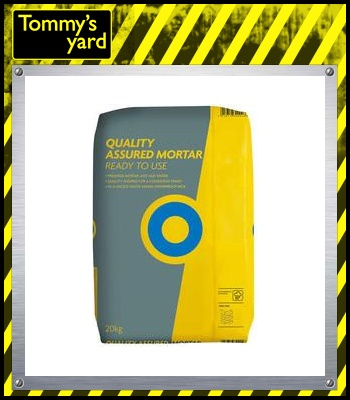 BLUE CIRCLE Quality Assured Mortar Mix 20kg Bag