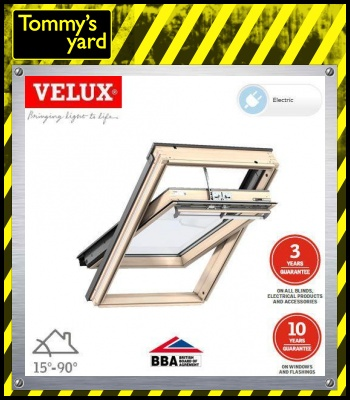 VELUX GGL MK08 307021U Pine Centre Pivot INTEGRA Window - 78cm x 140cm