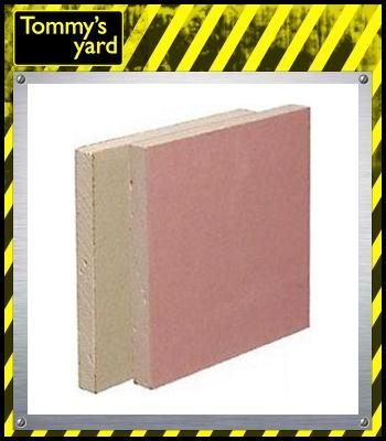 British Gypsum Gyproc Fireline Plasterboard Square Edge 2400mm x 1200mm x 12.5mm (2.88m