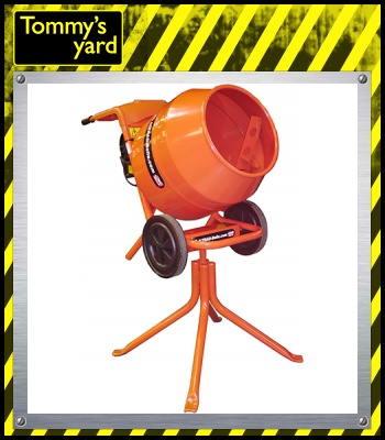 Belle Minimix 150 240 Volts Cement Mixer Stand Included