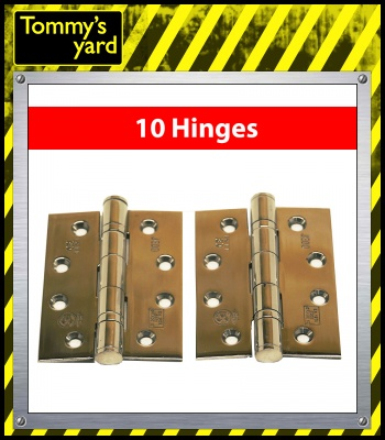 Frelan Jedo Collection Satin Hinges 102mm x 76mm x 3mm x5 Packs of 2