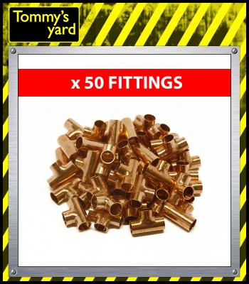 15mm Endfeed Equal Tee Fitting Price Per 50