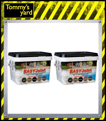 2 Tubs Easy Joint Jet Black 12.5kg