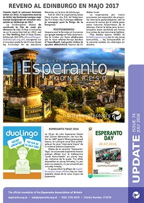 Update - Esperanto-Asocio de Britio
