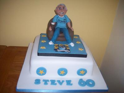 Everton Football Cake