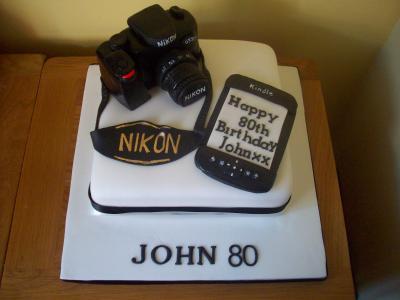Camera Kindle Cake