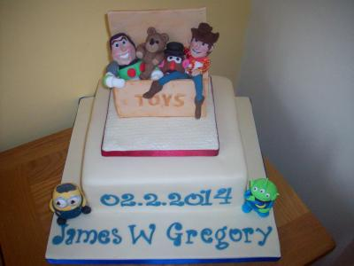 Toy Story Toy Box Birthday Cake