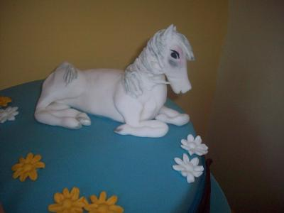 Edible Horse Cake Topper