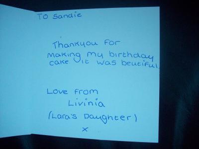 From Laura - Preston