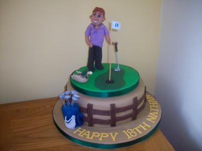 Mens Birthday Cakes in Blackpool Sandies Cakes and Toppers of