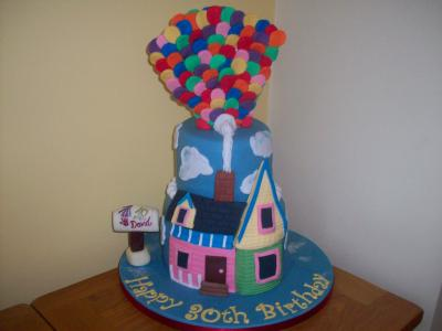 Up House 30th Birthday Cake