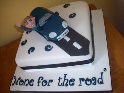 Car Driver Cake