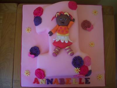 Upsy Daisy Birthday Cake