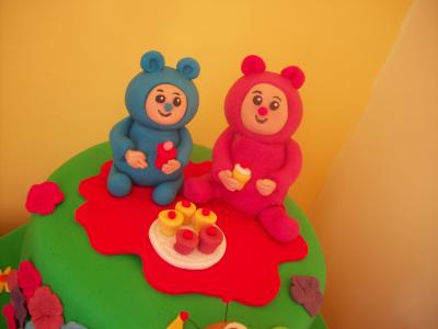 Billy And Bam Bam Birthday Cake Topper