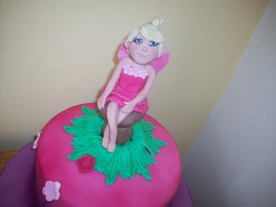 Fairy Princess Birthday Cake