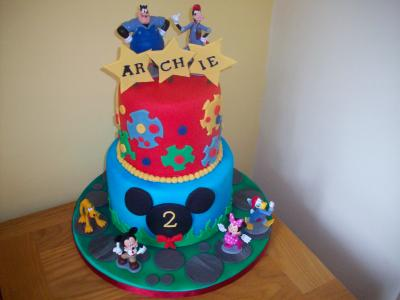 Micky Mouse Birthday Cake