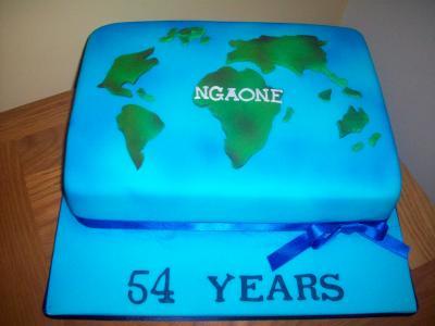 Africa World Cake