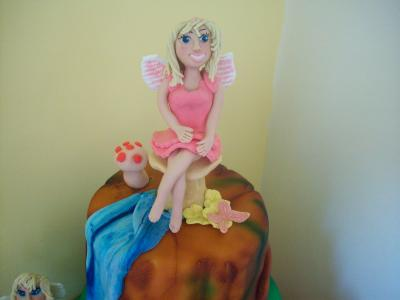 Fairy Princess Cake Topper